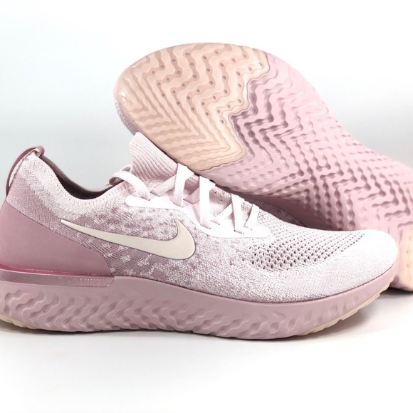 76f3339094f5 Nike Epic React Flyknit Pearl Pink Barely Rose